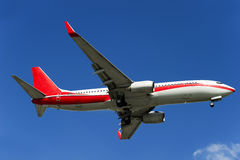 Aeroplano del BOEING 737-800 Fotografie Stock