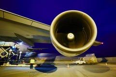 Aeroplano del cargo Fotografía de archivo