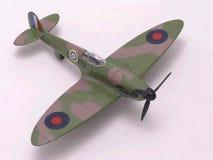 Aeroplano del combatiente del Spitfire imagenes de archivo