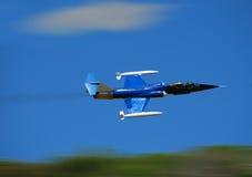 Aeroplano del combattente di jet Fotografie Stock Libere da Diritti