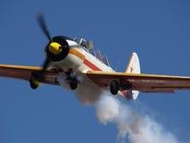 Aeroplano del entrenamiento foto de archivo libre de regalías