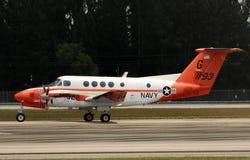Aeroplano del entrenamiento de la marina de los E.E.U.U. Imagenes de archivo