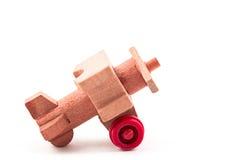 Aeroplano del giocattolo Fotografie Stock Libere da Diritti