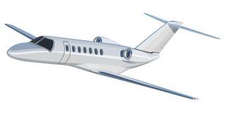 Aeroplano del jet stock de ilustración