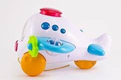 Aeroplano del juguete Imagen de archivo