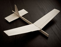 Aeroplano del juguete fotografía de archivo