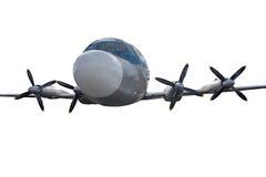 Aeroplano del pasajero Foto de archivo libre de regalías