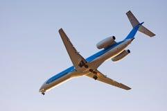Aeroplano del passeggero Immagini Stock