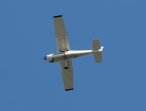 Aeroplano del propulsor foto de archivo
