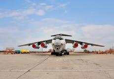 Aeroplano del transporte Fotografía de archivo libre de regalías