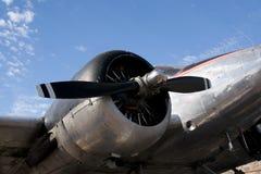 Aeroplano del vintage Fotos de archivo libres de regalías