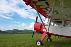 Aeroplano dell'annata immagine stock libera da diritti