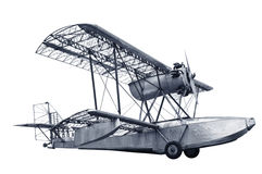 Aeroplano dell'annata immagine stock