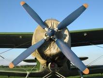 Aeroplano dell'elica Fotografie Stock