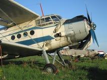 Aeroplano dell'elica Immagini Stock Libere da Diritti