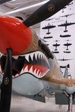 Aeroplano della seconda guerra mondiale Fotografie Stock Libere da Diritti