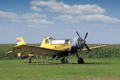 Aeroplano dello spolveratore del raccolto Fotografia Stock Libera da Diritti