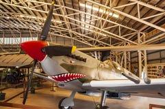 Aeroplano dentro de Darwin Military Museum Fotografía de archivo