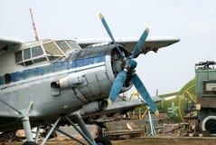 Aeroplano descuidado Fotografía de archivo