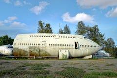 Aeroplano di abbandono Fotografie Stock