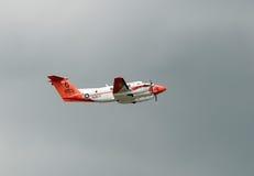 Aeroplano di addestramento del blu marino degli Stati Uniti Fotografia Stock Libera da Diritti