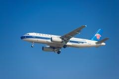 Aeroplano di China Southern Airlines Immagine Stock Libera da Diritti