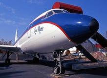 Aeroplano di Convair CV880 fotografia stock libera da diritti
