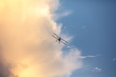 Aeroplano di guerra Fotografie Stock