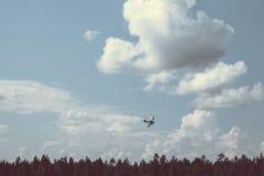 Aeroplano di guerra Fotografia Stock