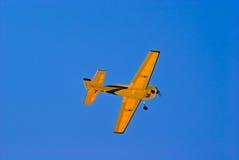 Aeroplano di modello Immagini Stock
