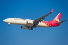 Aeroplano di Shenzhen Airlines Fotografia Stock