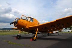 Aeroplano di Zlin Z-37 Cmelak Fotografie Stock Libere da Diritti