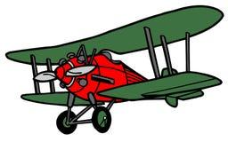 Aeroplano divertido stock de ilustración