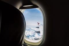 Aeroplano (effetto d'annata elaborato immagine filtrato ) immagini stock libere da diritti