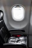 Aeroplano (effetto d'annata elaborato immagine filtrato ) fotografie stock
