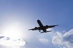 Aeroplano el vacaciones Foto de archivo