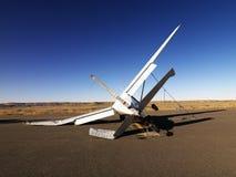 Aeroplano estrellado imagenes de archivo