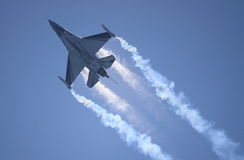 Aeroplano F-16 Foto de archivo