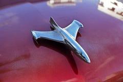 Aeroplano Hood Ornament Imagen de archivo libre de regalías