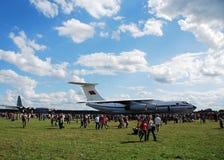 Aeroplano IL-76 Imágenes de archivo libres de regalías