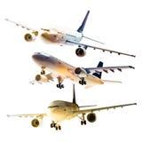 Aeroplano isolato Immagine Stock Libera da Diritti