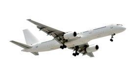 Aeroplano isolato del jet Fotografia Stock