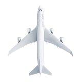 Aeroplano isolato su priorità bassa bianca royalty illustrazione gratis
