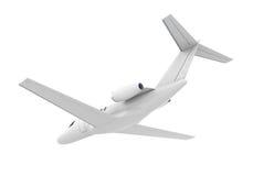 Aeroplano Jet Isolated Fotografia Stock Libera da Diritti