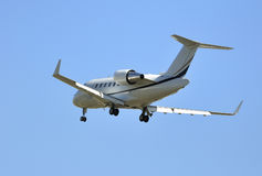 Aeroplano, jet privado Fotos de archivo libres de regalías