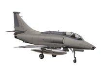Aeroplano militar stock de ilustración
