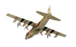Aeroplano militar foto de archivo libre de regalías