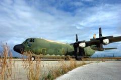 Aeroplano militar imagenes de archivo