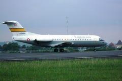 Aeroplano militar indonesio Foto de archivo