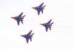 Aeroplano militar su 27 Imagen de archivo